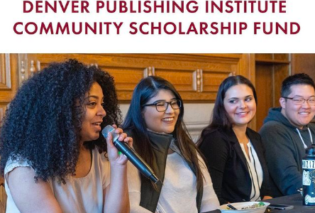 Announcing Denver Publishing Institute Community Scholarship Fund